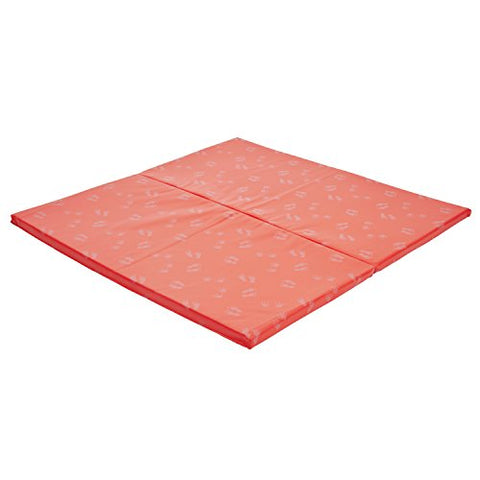 Ecr4Kids 2-Fold Softzone Hands And Feet Active Play Mat, Red
