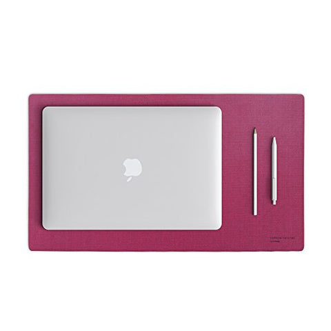 Satechi Desk Mat & Mate 24 X 14 V2.0 With Water Resistant And Non-Slip Cotton & Nano Technology (Pink)