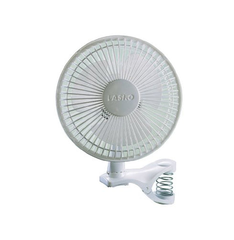 Lasko 2004W 2-Speed Clip Fan, 6-Inch, White