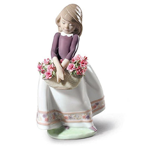 Lladro May Flowers Special Edition Figurine