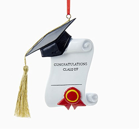 Graduation Congratulations Class Of Ornament For Personalization