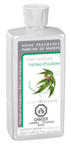 Lampe Berger Fragrance - Fresh Eucalyptus , 500Ml / 16.9 Fl.Oz.