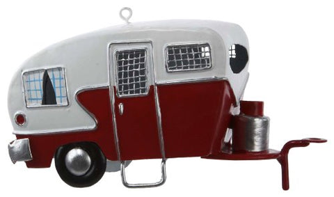 Kurt Adler J1177 Tin Camper Ornament, 4-3/4-Inch