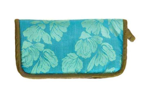 Lantern Moon Knit Aid Kit Case, Turquoise/Olive