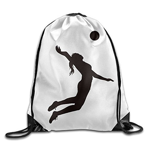 Logon 8 Volleyball Women Comfortable Drawstring Bags One Size