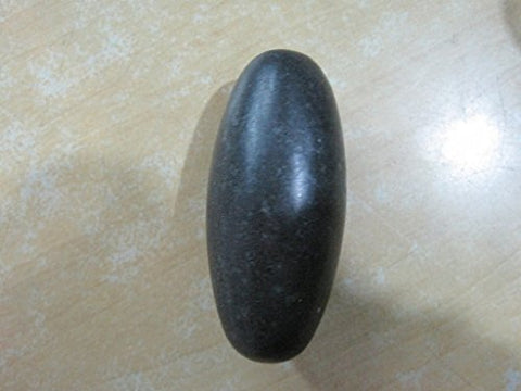 Rare Large Black Shiva Lingam Approx 6 In
