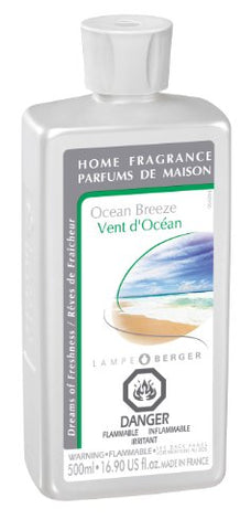 Lampe Berger Fragrance - Ocean Breeze , 500Ml / 16.9 Fl.Oz.