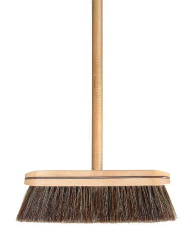 Superior Wooden Horsehair Broom