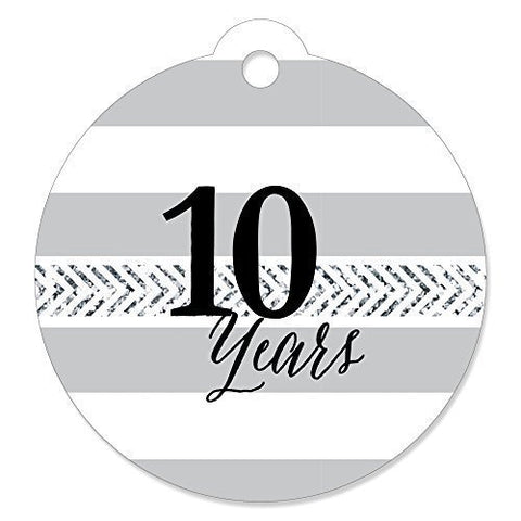 We Still Do - 10Th Wedding Anniversary - Party Favor Gift Tags (Set Of 20)