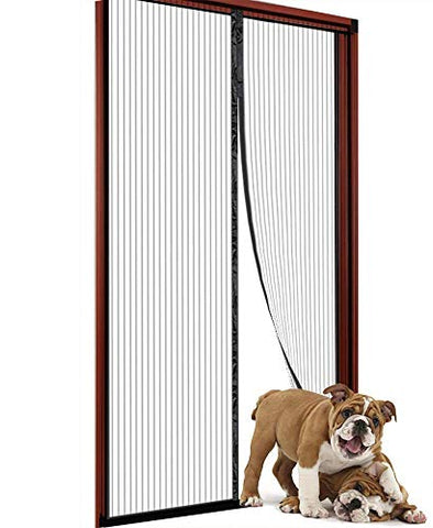 Magnetic Screen Door (Black-34X82)