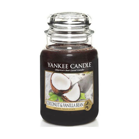 Yankee Candle Company Coconut & Vanilla Bean Large Jar Candle