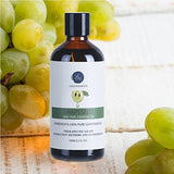 Grapeseed Essential Oil, Organic Pure Grapeseed Oil Massage Oil For Skin, Hair Care, Eyelashes 100Ml