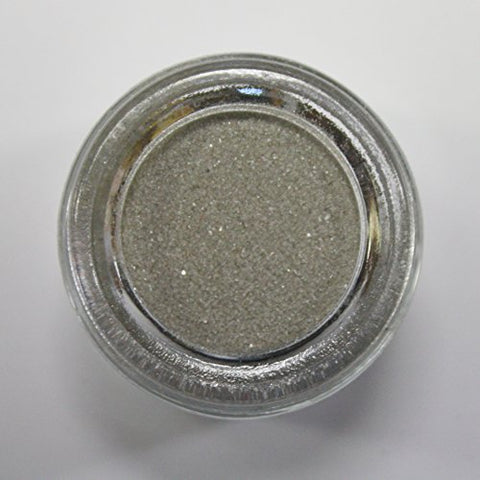 Colored Sand - Wedding Sand - Vase Fillers - 8 Ounces (Silver)