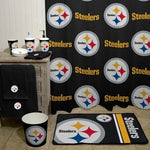 Nfl Pittsburgh Steelers Decorative Bath Collection - Shower Curtain
