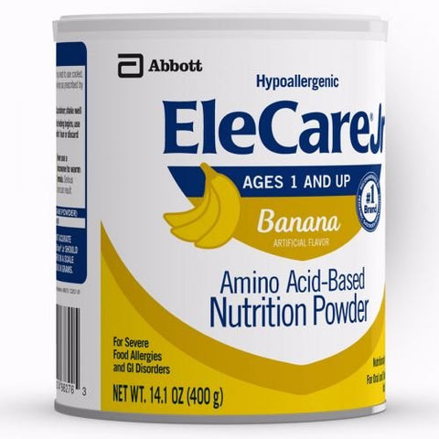 Elecare Jr Toddler Formula - Banana - Powder - 14.1 Ounce - 1 Case Of 6 Cans