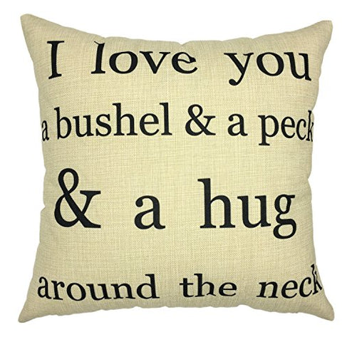 Your Smile-Throw Pillow Case Decorative Letters Outdoor Sofa Cushion Cotton Linen Pillowcases