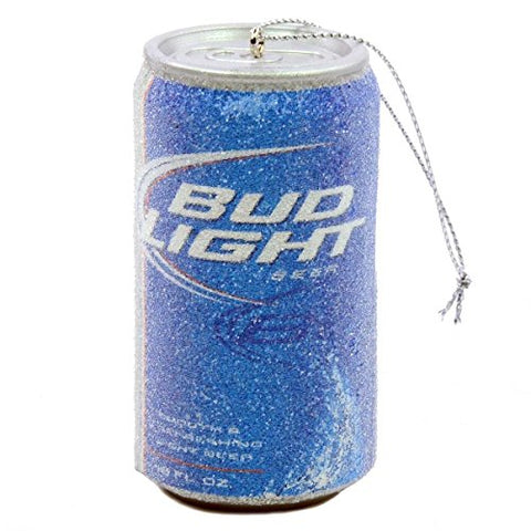 Budweiser Bud Light Beer Can Christmas Ornament