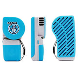Lohome Handy Cooler Small Fan, Mini-Air Conditioner Portable Speed Adjustable Fan Runs On Batteries Or Usb (Blue)