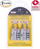 Alpine Rivers Ultratuff Tsa Approved Lock With Red Open Alert Indicator For Travel Luggage &Amp; Gym Lockers