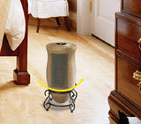 Lasko Portable Oscillating Ceramic Heater With 2 Quiet Settings And Built-In Safety Features, Remote Control Included