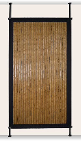 Versailles Home Fashions Pp015-19 Bamboo Privacy Panel, 38 X 68, Honey
