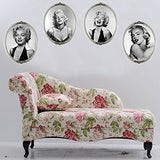 Lankey Wall Art Stickers Sexy Marilyn Monroe Portrait Wall Decal Stickers Mural Art Removable