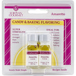 Lorann Oils Candy And Baking Flavoring Amaretto Bottle (2/ Pack), 0.125 Ounce