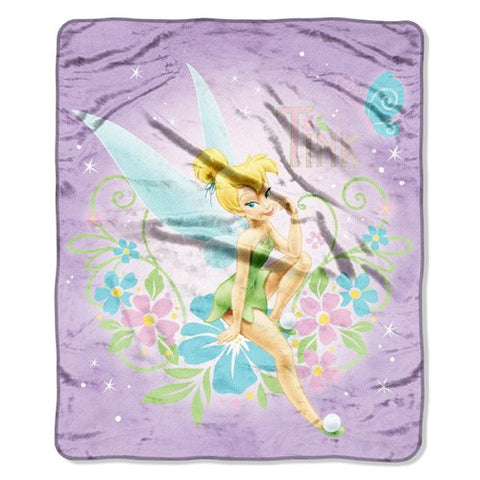 Tinkerbell Sugar  Micro Raschel Throw (50 X60 )