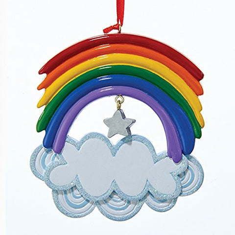 Kurt Adler Christmas Rainbow Ornament
