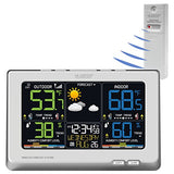 La Crosse Technology C87030 Multicolor  Wireless Forecast Station, White
