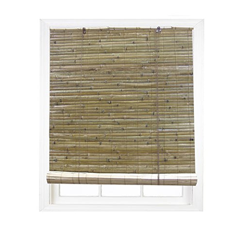 Radiance 0108102 Laguna Bamboo Shade Roll Up Blind, Natural, 36-Inch Wide By 72-Inch Long