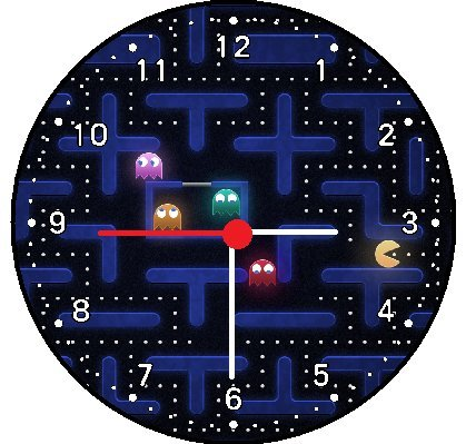 Pac Man Pacman Video Game Wall Clock