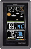 La Crosse Technology S88907 Vertical Wireless Color Forecast Station With Temperature Alerts