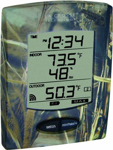 La Crosse Technology Wireless Thermometer With Camo Design
