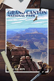 Grand Canyon National Park - South Rim (12X18 Art Print, Wall Decor Travel Poster)