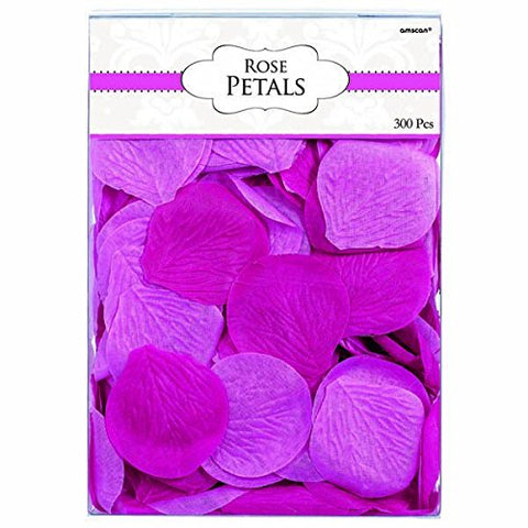 Nature'S Finest Rose Flower Petals Party Decoration, Bright Pink, Fabric , 2