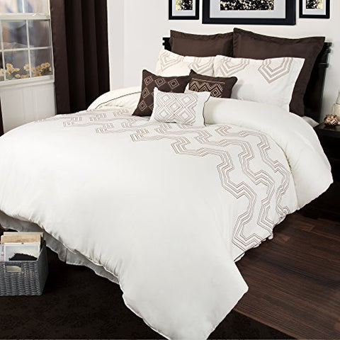 Lavish Home 9 Piece Nala Comforter Set, Queen