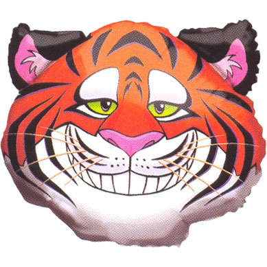Circus Tiger Helium Shape