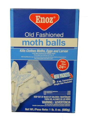New Enoz Old Fashioned Moth Balls Value Size 24 Ounces Large Box 680 G Kills Fleas Moths Keeps Snakes Deer Cats Dogs Away Willert Made In Usa