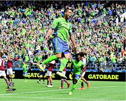 Clint Dempsey Seattle Sounders 2014 Mls Action Photo (Size: 8  X 10 )