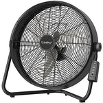 Lasko H20685 High Velocity Floor Fan With Quickmount Wall-Mount And Remote Control, 20 , Black