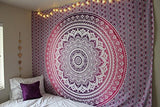 Hippie Tapestries, Mandala Tapestries, Tapestry Wall Hanging, Bohemian Tapestries, Wall Hanging, Indian Tapestry, Hippie Dorm Tapestries , Wall Tapestry, Floral Tapestries, Ombre Mandala Tapestries