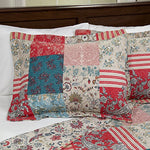 Lavish Home 3 Piece Mallory Quilt Set, Full/Queen