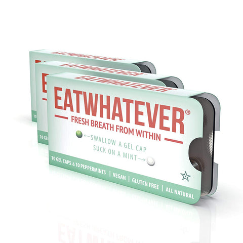 Eatwhatever Breath Freshening System, Peppermint, 30 Servings
