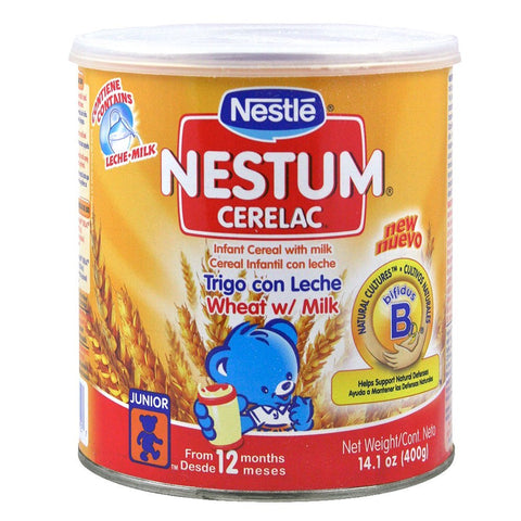 Nestle Nestum Cerelac Wheat Infant Cereal 14.1 Oz.