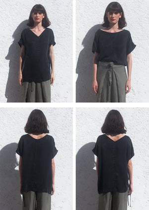 Hemp & Tencel BLOUSE RI
