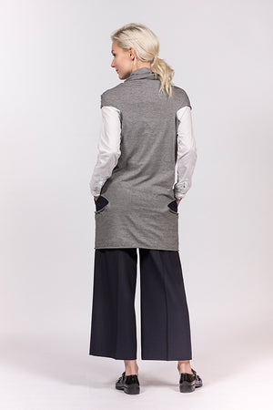 Organic cotton dress or vest multifunctional