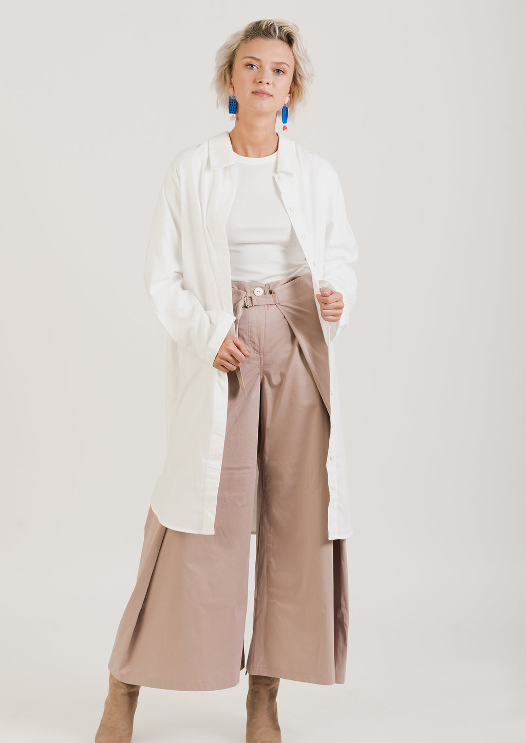 Light Pink WIDE trousers