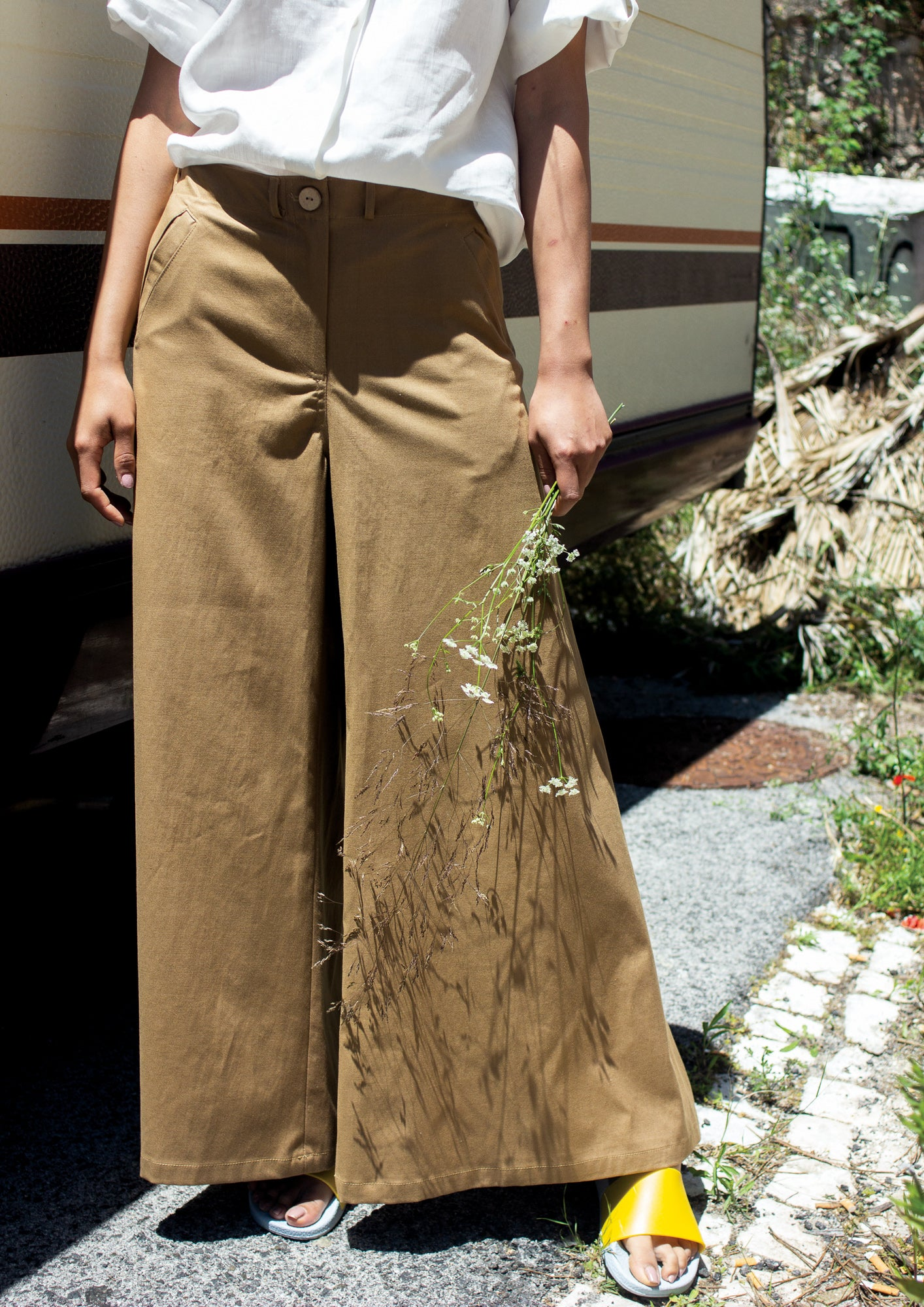 Camel WIDE trousers