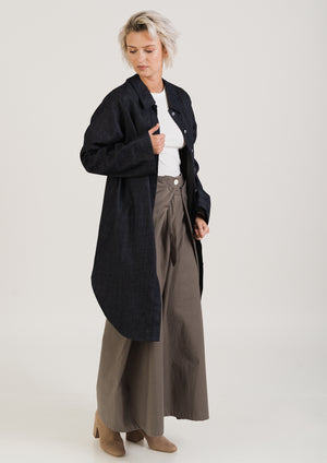 Dark Grey WIDE trousers